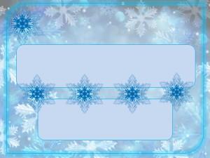 Шаблон зима для презентации